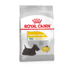 Royal Canin Mini Dermacomfort (сухой корм для собак мелких пород с раздраженной и зудящей кожей ), 1кг