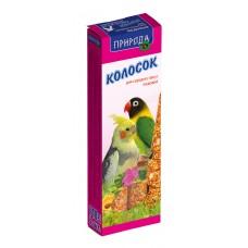 Колосок для   среднего попугая медовый