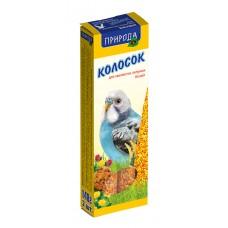 """Колосок """"Природа"""" для волнистых попугаев """"Бисквит"""""""