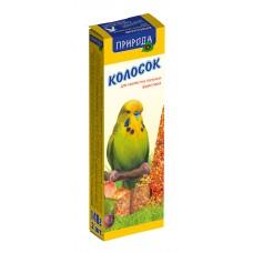 """Колосок """"Природа"""" для волнистых попугаев """"Фруктовый"""""""