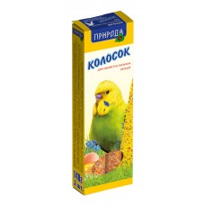 Колосок для попугая яичный
