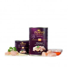 Nuevo for cats 400 г Kitten Chicken with rice and salmon oil