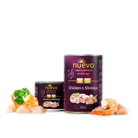 Nuevo for cats 400 г Chicken & Shrimps