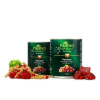 Nuevo for dogs 400 г Venison with noodles & cowberry