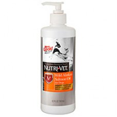 Nutri-Vet Salmon Oil добавка для шерсти собак 0,399 л