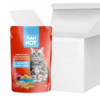 Пан-кот 100г*24 шт - паучи для кошек