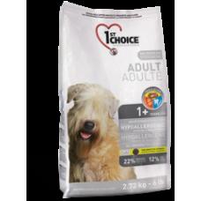 1st Choice Взрослые собаки всех пород-Гипоаллергенный
