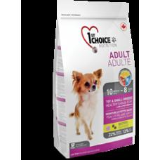 1st Choice Взрослые собаки декоративных и мелких пород - Для здоровья кожи и шерсти