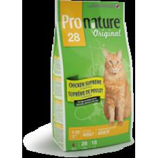 Pronature Original КУРИЦА СУПРИМ супер премиум корм для взрослых котов