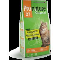 Pronature Original СЕНЬЙОР супер премиум корм для пожилых и малоактивных котов