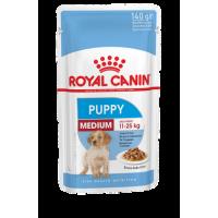 Влажный корм Royal Canin Medium Puppy, 140г