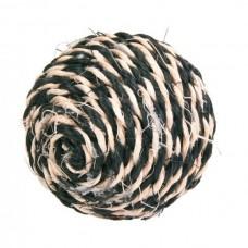 Мяч сизаль цветной 6,5 см
