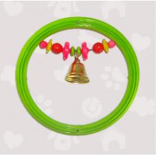 Spring Кольцо для попугаев с колокольчиком