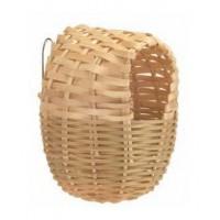 Гнездо для птиц плетеное 10 см