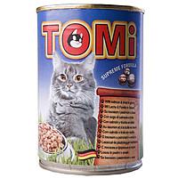 TOMi salmon trout ЛОСОСЬ ФОРЕЛЬ , влажный корм