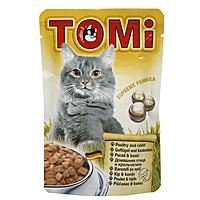 TOMi poultry rabbit ПТИЦА КРОЛИК , влажный корм, пауч