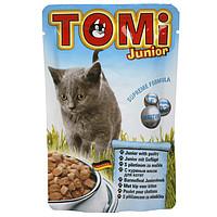 TOMi junior ДЛЯ КОТЯТ , влажный корм, пауч