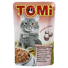 TOMi veal turkey МЯСО ИНДЕЙКА , влажный корм, пауч