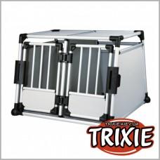 Двухместная переносная клетка для собак TRIXIE