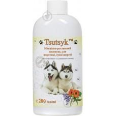 Шампунь Tsutsyk для животных с жесткой и сухой шерстью 200 мл