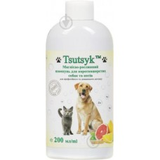 Шампунь Tsutsyk для короткошерстных собак и кошек 200 мл