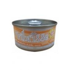 Vibrisse Menu Консервы для кошек с курицей,тиляпией и водорослями