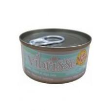 Vibrisse Menu Консервы для кошек с курицей,ягодами годжи и сыром