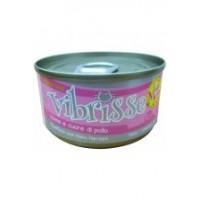 Vibrisse Menu Консервы для кошек с тунцом и куриными сердечками