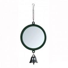 Зеркало для попугая с колокольчиком 5,5см 5215